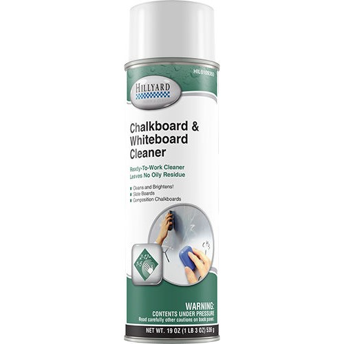 Hillyard, Chalkboard and Whiteboard Cleaner, ready to use 19 oz can, HIL0109355, sold as 1 can, 12 per case