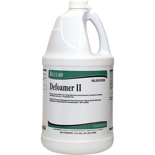 Hillyard, Defoamer II, Concentrated, HIL0018306, 4 gallons per case, sold as 1 gallon