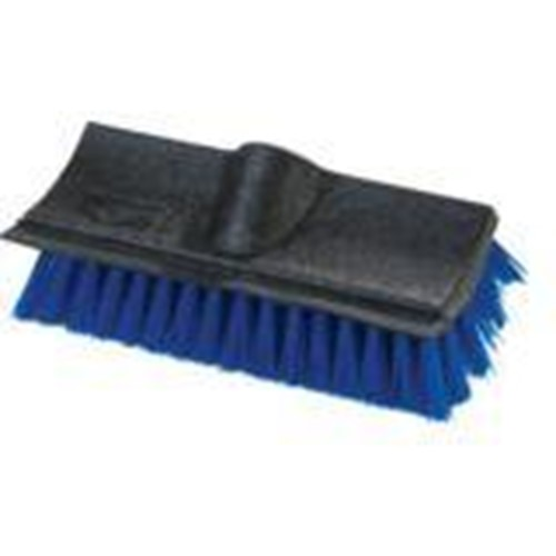 Hillyard, Dual Surface Scrub Brush, 10 inch with Squeegee, Blue, CSM3619014, sold as each