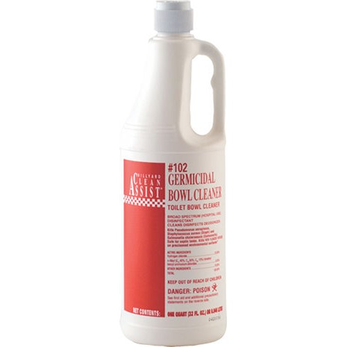Hillyard Germicidal Bowl Cleaner 102 Hil0010204 12