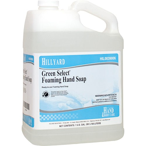 Hillyard Green Select Foaming Hand Soap Hil0039006 4