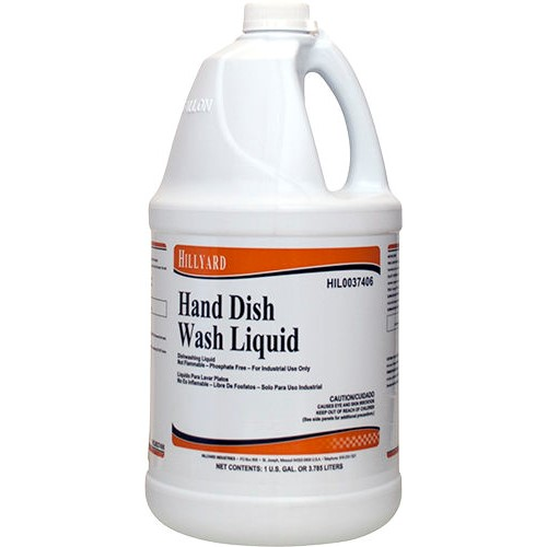 Hillyard, Hand Dish Wash Liquid, HIL0037406, sold as 1 gallon, 4 gallons per case
