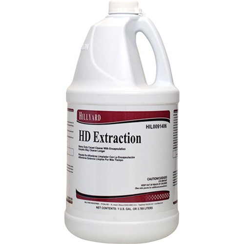 Hillyard, HD Extraction Carpet Cleaner, 1 gallon concentrate, HIL0091406, sold as 1 gallon, 4 gallons per case