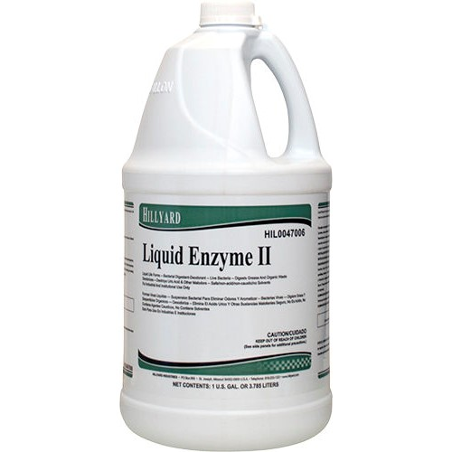 Hillyard, Liquid Enzyme II, Ready To Use Gallon, HIL0047006, 4 gallons per case, sold as 1 gallon
