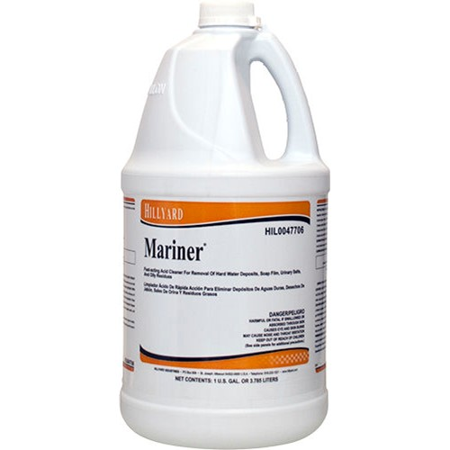 Hillyard, Mariner Acid Restroom Cleaner, concentrated gallon, HIL0047706, sold as 1 gallon, 4 gallons per case