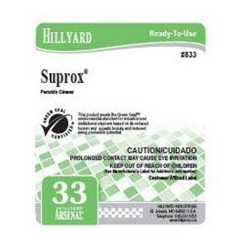 Hillyard, Secondary Label for 833 Arsenal Suprox, HIL31833, sold as each