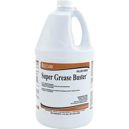 Hillyard Super Grease Buster, HIL0015606, sols as 1 gallon, 4 gallons per case