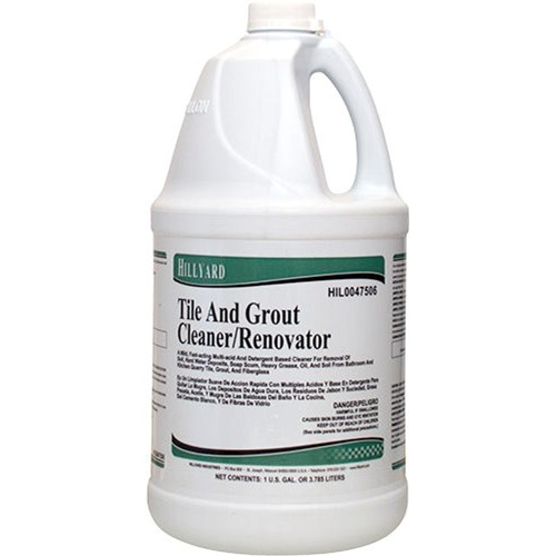 Hillyard, Tile and Grout Cleaner Renovator, concentrated gallon, HIL0047506, 4 gallons per case, sold as 1gallon