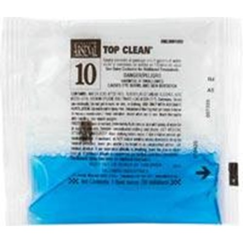 Hillyard, Top Clean #10, dilution control 2 oz pouch, HIL0081092, sold as 1 case, 72 packs per case