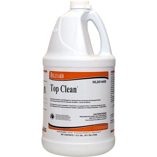 Hillyard, Top Clean Neutral Cleaner, concentrate, HIL0014406, 4 gallons per case, sold as 1 gallon
