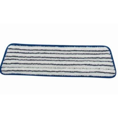 Hillyard, Trident Microfiber Finish Mops, Blue and White, 18in, HIL20037, 6 per case, sold each