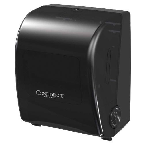 Papernet, PRO Confidence Paper Dispenser, Mechanical Hands Free Roll Towel Dispenser 7.6 in X 700 ft, C2, 410261, sold as each