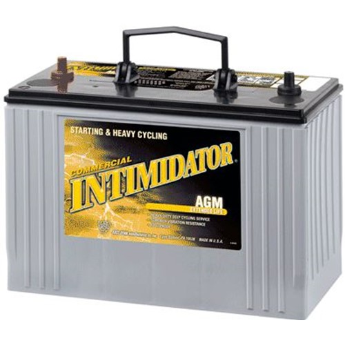 Parts, Intimidator, Tyler Battery, 8A31 105Ah 12volt AGM Battery, Sold as each.