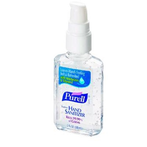 Purell Instant Hand Sanitizer, 8 oz pump bottle,GOJ9652, 12 per case, sold as case