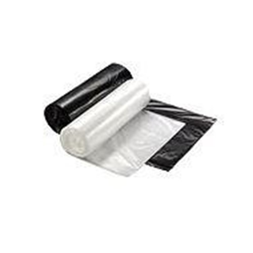 RollPak, DuraTuff Liner, 24x33, White, 12 - 16gal, .59 mil, LL24336W, 500 bags per case, sold as 1 case