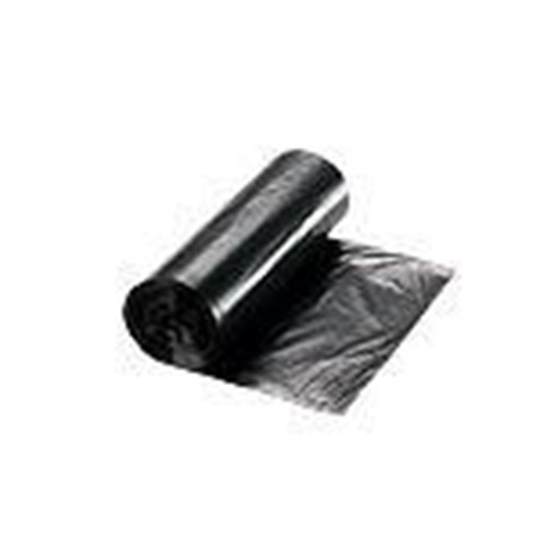 RollPak, Payload Liner, 38x58, Black, 60 gal, 1mil, LR3860100K, 100 bags per case, sold as 1 case
