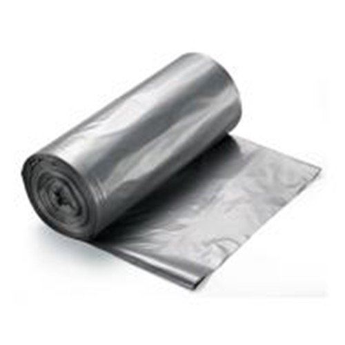 RollPak, Payload Liner, 38x58, Silver, 60 gal, 1.7mil, LL3860170S, 50 bags per case, sold as 1 case