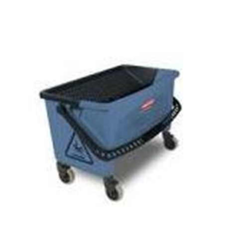 Rubbermaid, Microfiber Finish Bucket, blue, RUBQ930BL, sold as each