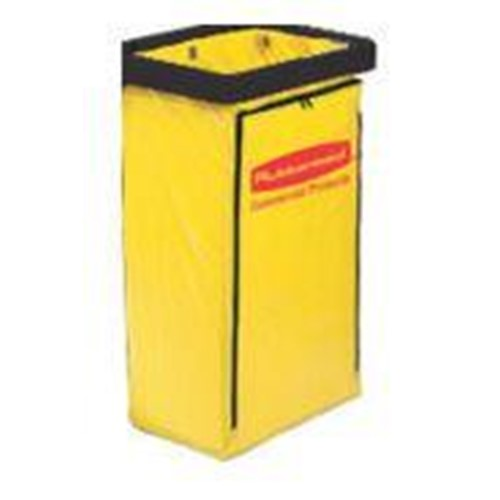 Rubbermaid, Vinyl Replacement Bag with Zipper, Fits 6173 Cart, RUB6183YW, 2 per case, sold as each