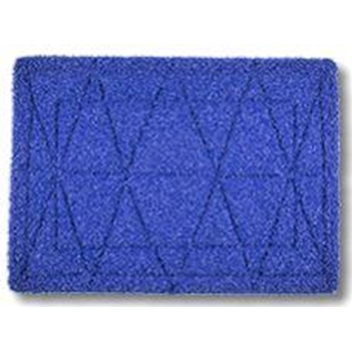 Square Scrub, Tile and Grout Pad, 14 x 20 inch, Blue, SSP1420TGB. sold as each