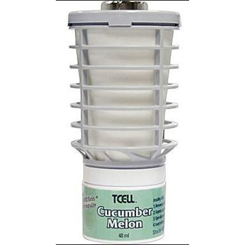 Tech Concepts, Odor Control System, Cucumber Melon, Refill for TCell Unit, TEC402470, 6 per cases, sold as each