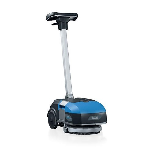Trident, Hillyard, XM13SC, Mini Floor Scrubber, Lithium-ion Battery, 13 inch path, HIL56004, sold as each