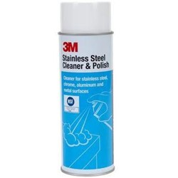 3M, Stainless Steel Cleaner, ready to use, 21 oz aerosal can, MIN14002