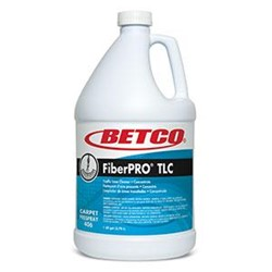 Betco, FiberPRO TLC, Traffic Lane Cleaner, Straw Colored, Pleasant Fragrance, 13 pH, 4060400, sold as 1 gallon, 4 gallons per ca