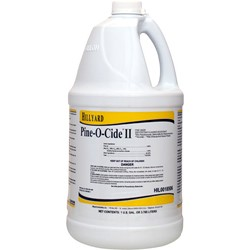 Hillyard, Pine O Cide II Disinfectant, concentrated gallon, HIL0018506, 4 gallons per case, sold as 1 gallon