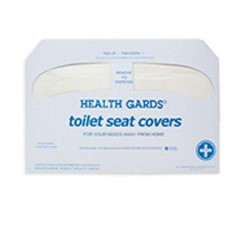 Hospeco, Toilet Seat Covers, Health Gards, 250 Sheets, White